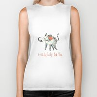 I Will Be Lucky For You. Biker Tank