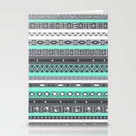 Tiffany Turquoise Aztec … Stationery Cards