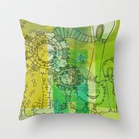 My Dreams Are Mad Throw Pillow