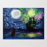 Part Of That World Canvas Print