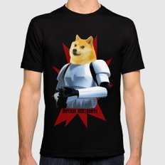 Imperial Dogetrooper SMALL Black Mens Fitted Tee