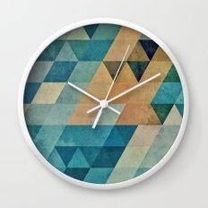 vyntyge pwwdr Wall Clock