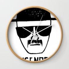 Heisenberg - Breaking Bad Sketch Wall Clock
