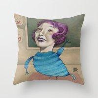 RAISE YOUR HAND Throw Pillow