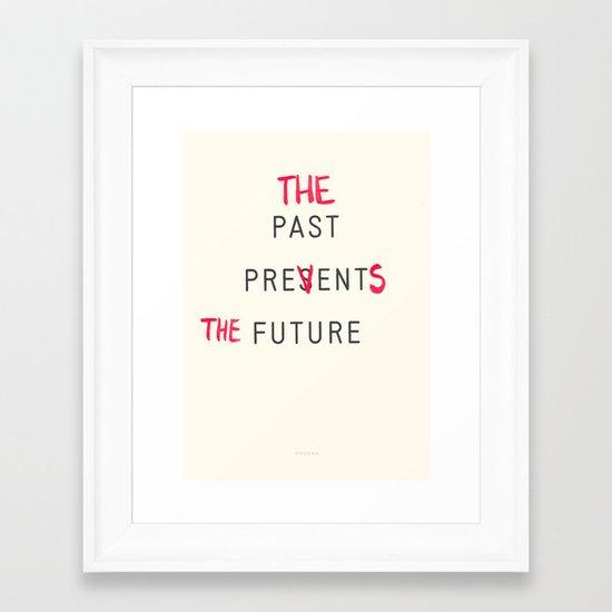 Prevents Framed Art Print