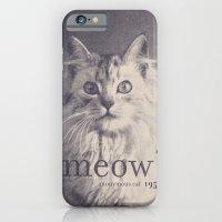 Famous Quotes #2 (anonymous cat, 1952) iPhone 6 Slim Case