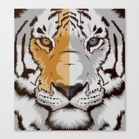 Tiger OWGW Canvas Print