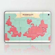 Australian World Map Laptop & iPad Skin