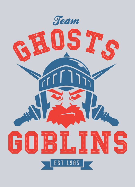Team Ghosts & Goblins Art Print