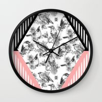 Bird Cage Wall Clock