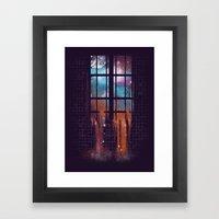 Let The Stars Flow Into … Framed Art Print
