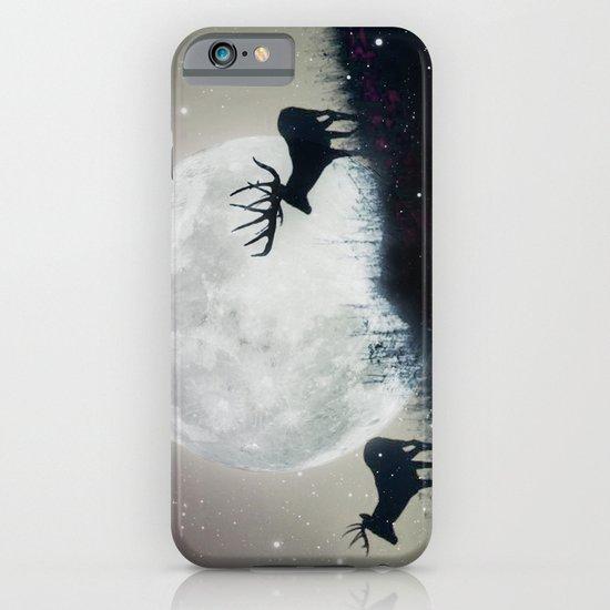 blue moon rising iPhone & iPod Case