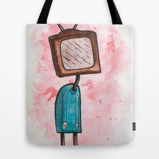 TV Head Tote Bag