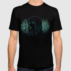 Woods Woman 1 SMALL Black Mens Fitted Tee