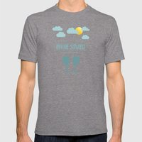Before Sunrise Mens Fitted Tee Tri-Grey SMALL