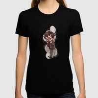 will graham Womens Fitted Tee Black SMALL
