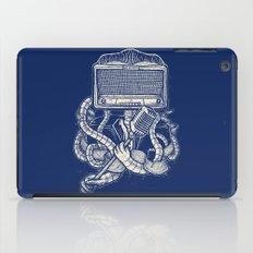 Rocker robot Navy iPad Case