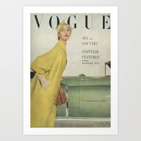 VOGUE 1950 Art Print