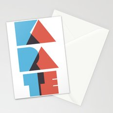 Karate Circuitry Stationery Cards