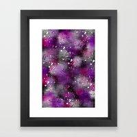 Spotty Blur Framed Art Print