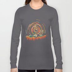 The Geometry of Sunrise Long Sleeve T-shirt