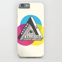 iPhone & iPod Case featuring Seeing is Believing by Andrew Henry
