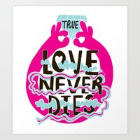 True Love Art Print