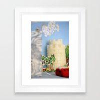 I love Thessaloniki Framed Art Print