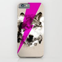 iPhone Cases featuring Wolf Rocks by Robert Farkas