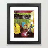 Eyes across the Universe Framed Art Print