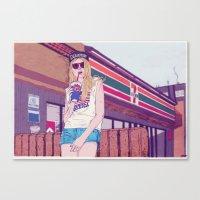 Mallrats Canvas Print