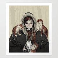 SKAÐI - Dweller Of The … Art Print