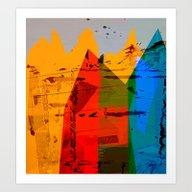 Alpine Panorama Art Print