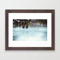 Edinburgh inverted Framed Art Print