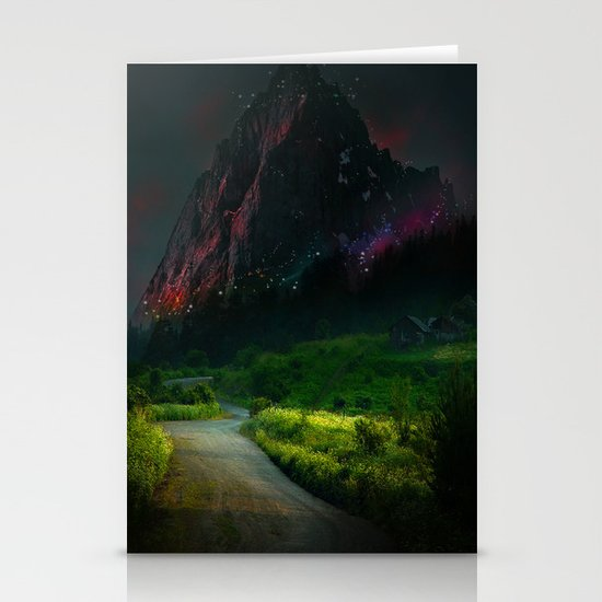 Mountain Stationery Card