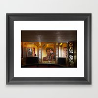 Hot Dogs & Tiki Bars Framed Art Print