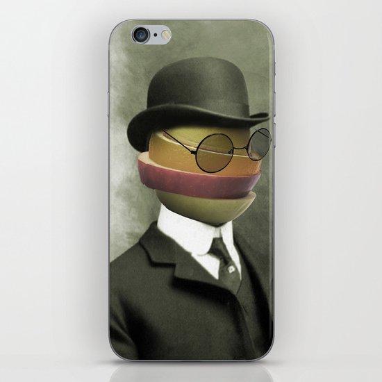 Bowler fruit iPhone & iPod Skin