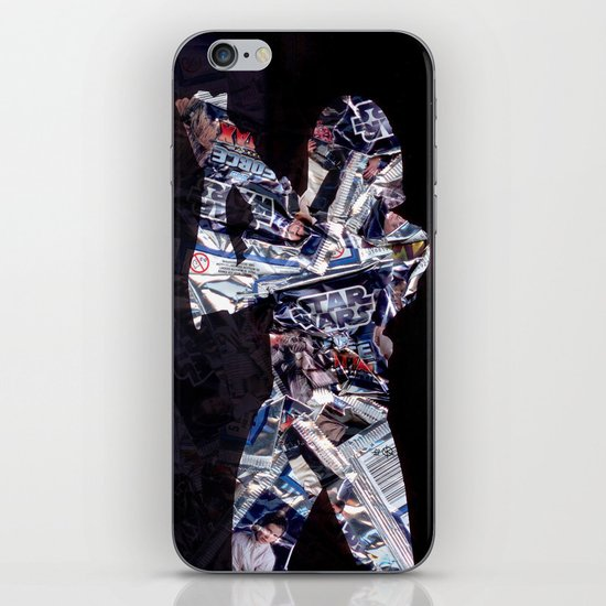 Cut StarWars Blister Collage 2 iPhone & iPod Skin