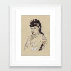 Anna Fur Laxis  Framed Art Print