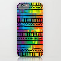 iPhone & iPod Case featuring Indigenous traces by Msimioni