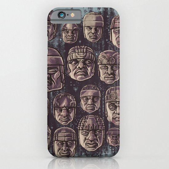 The Olmecs iPhone & iPod Case