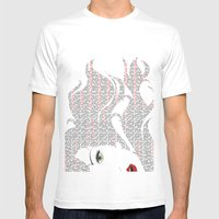 Yeah Yeah Yeah Glam Mens Fitted Tee White SMALL