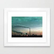 RUHR Framed Art Print