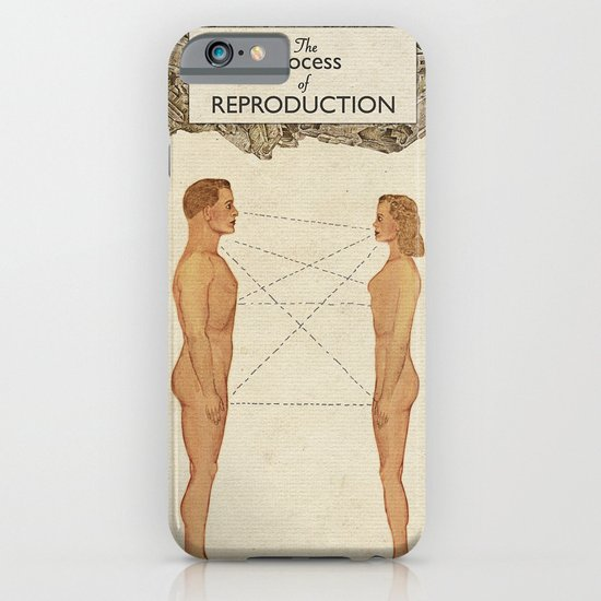 The Process of Reproduction I iPhone & iPod Case
