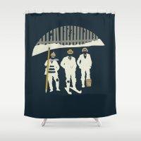 Urban Fae — Alley Scallywags Shower Curtain