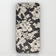 Black And White Lace- Ph… iPhone & iPod Skin