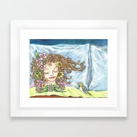 Spring Dreaming  Framed Art Print