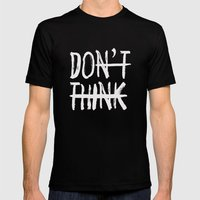 DO Mens Fitted Tee Black SMALL