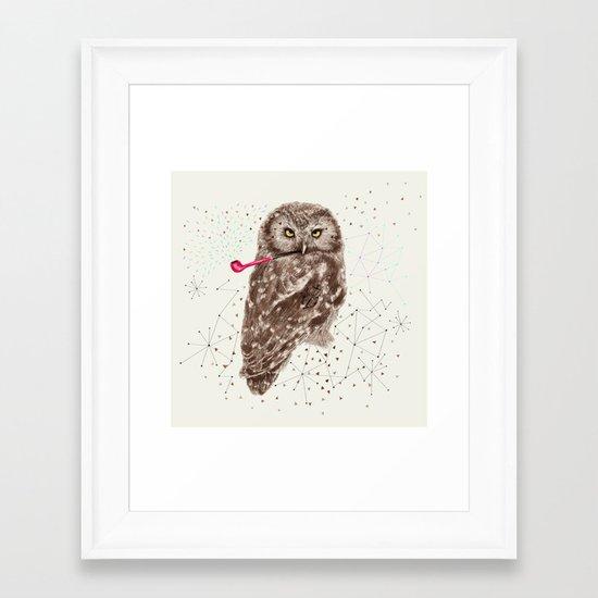 Mr.Owl III Framed Art Print