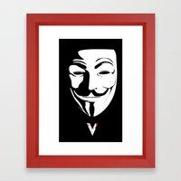 Vendetta Framed Art Print